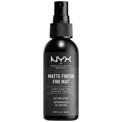 NYX Professional Makeup Setting Spray Long Lasting Formula Vegan Matte Finish 60 ml